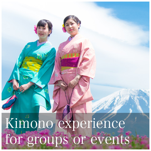Kimono experience for groups or events